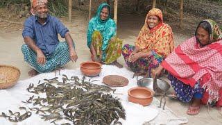10 KG Taki Macher Vorta Recipe টক মছ ভরত BENGALI MASOOR DAL Lunch Meal Prep For Village People
