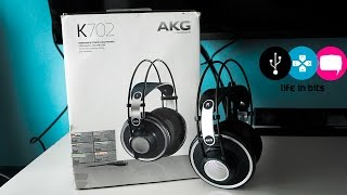 Audifonos AKG K702 review en español