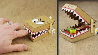 DIY Simple Rat Trap from Cardboard thumbnail