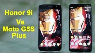 Honor 9i vs Moto G5S Plus: Design, display, camera and performance