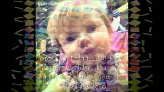 Happy 1st Birthday Baby Lux