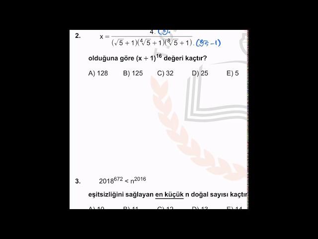 MEB AYT Deneme 1 Çözümleri (Soru 1-10)