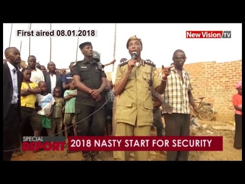 2018 Nasty start for security: Bad news for Gen. Kayihura