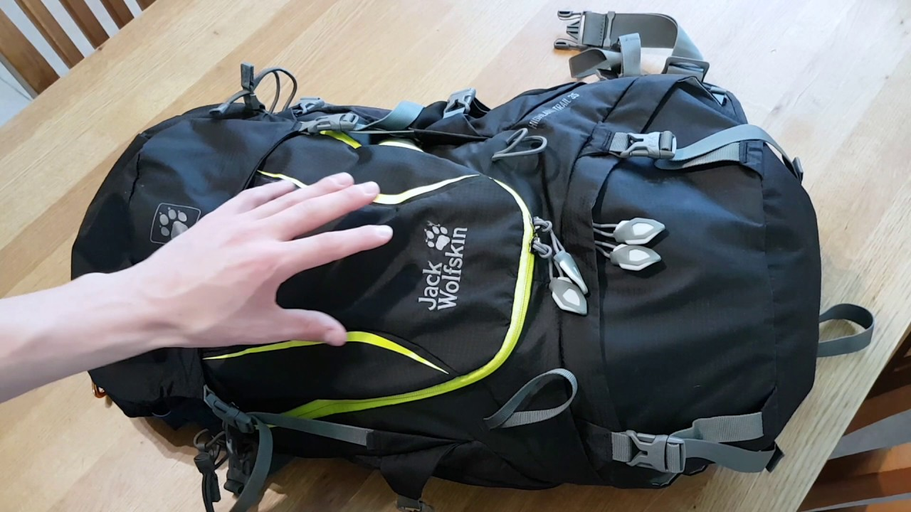kupować nowe aliexpress buty do biegania Bag Review - Jack Wolfskin Highland Trail 35