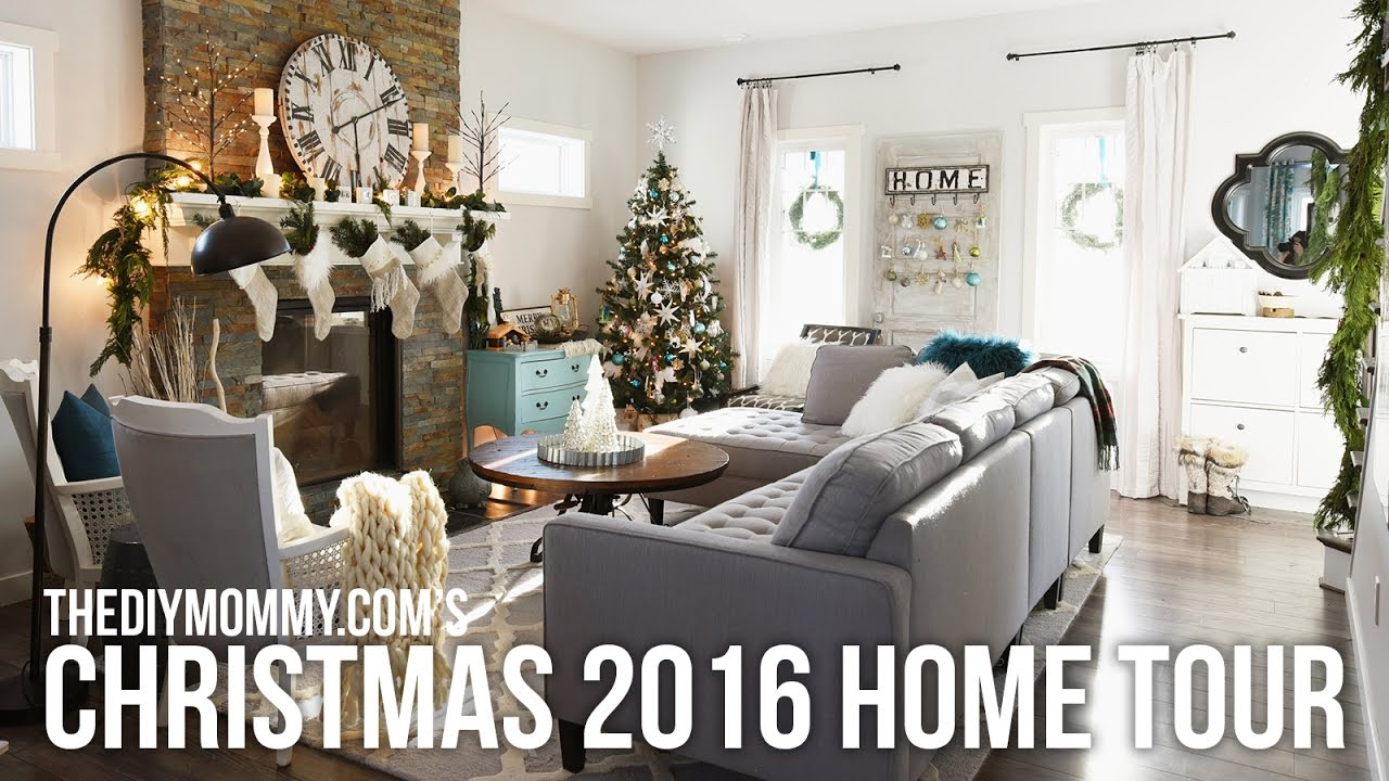 2016 CHRISTMAS HOME TOUR // Cozy Country Christmas Decor