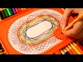 ASMR Satisfying Spirograph Drawing