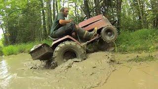 Off Road Mower Mud Rompage part 2 (Breakdowns & Fast Driving)