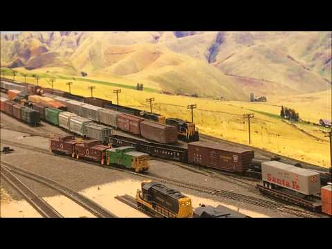 Oregon Joint Line - 2nd Trick Operations at Monument Yard