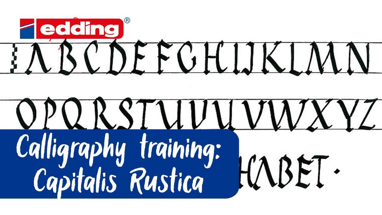 Yeni Baslayanlar Icin Kaligrafi Edding
