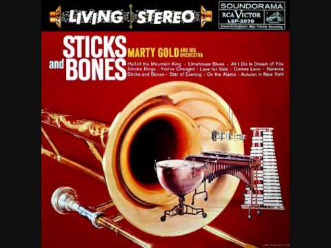 Marty Gold - Sticks and bones (1959)  Full vinyl LP