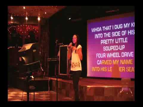 Aislinn - Karaoke Night - Before He Cheats - Carrie Underwood