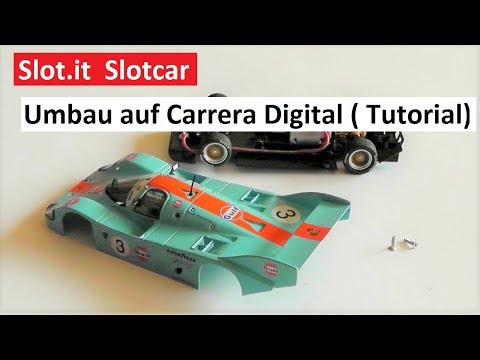 Slot.it Slotcar umbau auf Carrera Digital 132 – Do it yourself No. 15