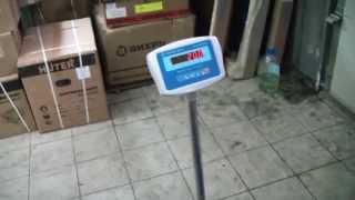 Товарные весы ВСП 8КС - обзор