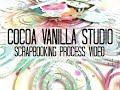 Scrapbooking Process  #375 Cocoa Vanilla Studio / This