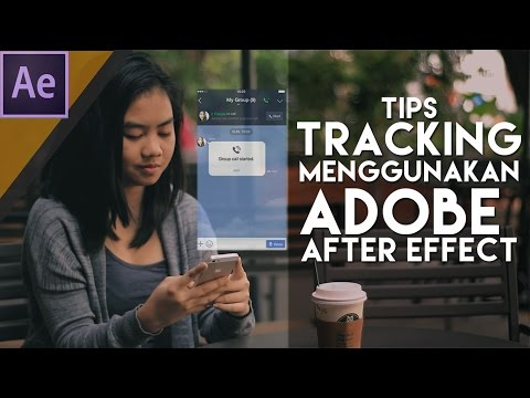 Tips Tracking Part 1-  Dasar Editing Tracking After Effect