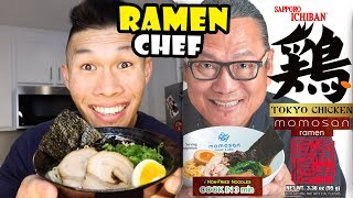 Best Instant Ramen? Testing 🍜from Iron Chef Morimoto || Life After College: Ep. 628