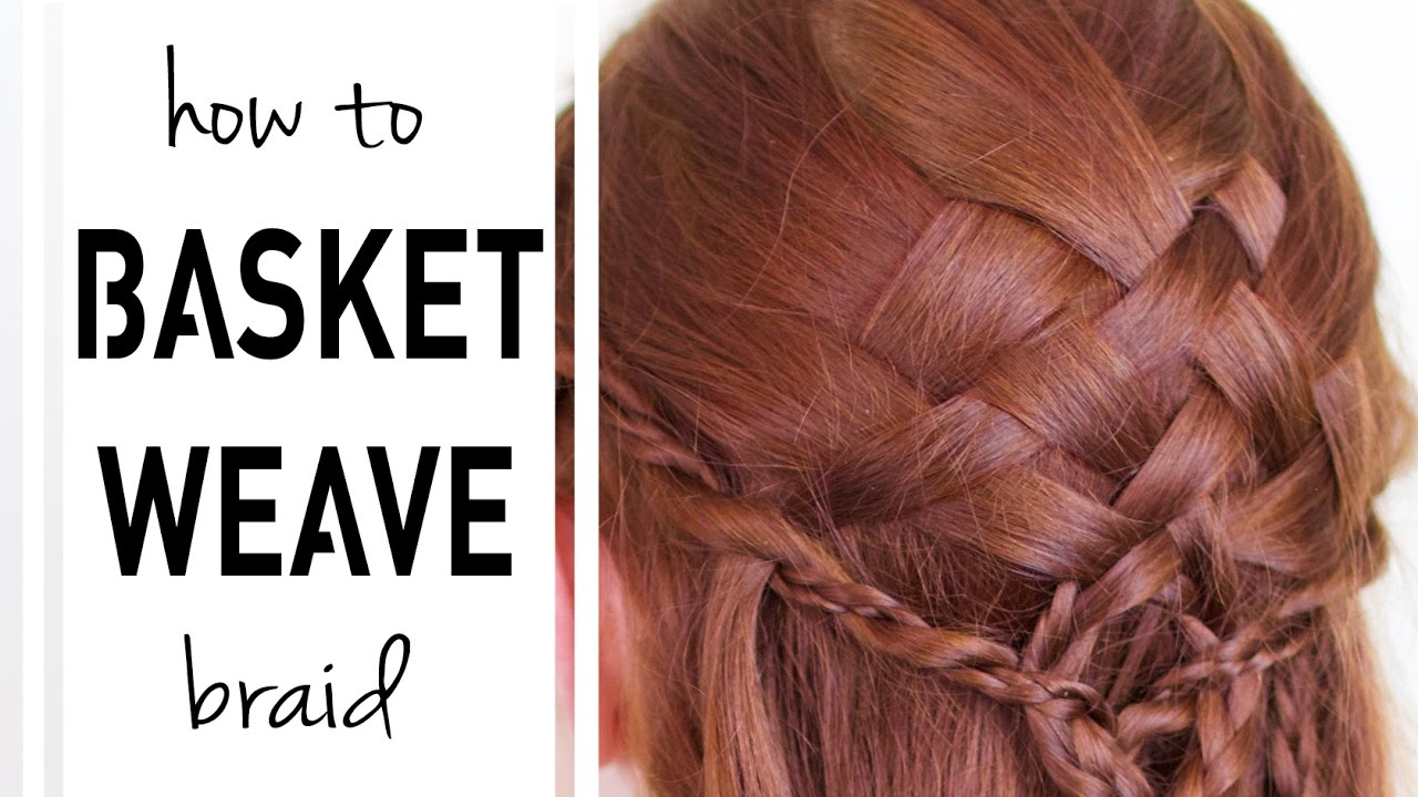 How to weave a basket of hair: step by step instructions 33