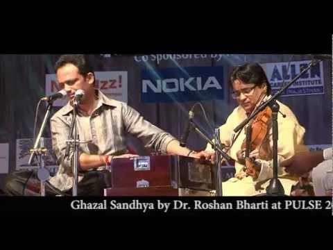 Uske hanste chehre se - Ghazal Sandhya by Dr. Roshan Bharti  AIIMS Delhi , Sponsered by ALLEN