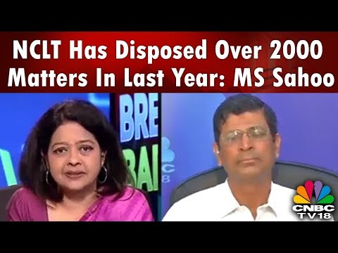 INDIA BUSINESS HOUR PLUS | NCLT Has Disposed Over 2000 Matters in Last Year: MS Sahoo