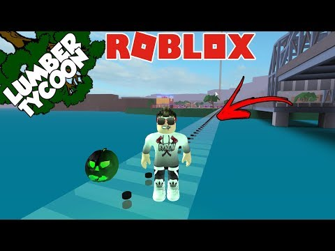 Roblox- SUPER PONTE DE VIDRO!! E ATUALIZAÇÃO DE HALLOWEEN ( Lumber Tycoon 2 )