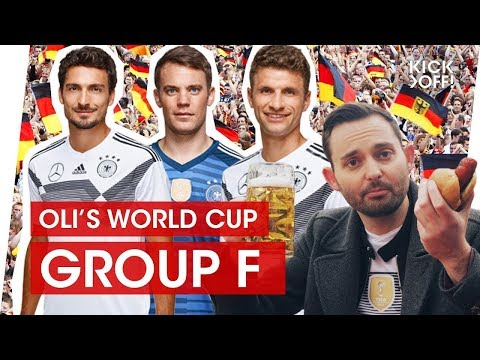 Germany again? Can those Bayern players retain the title?  Oli's World Cup Group F