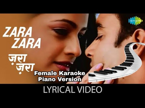 zara-zara-karaoke---female-scale---piano-version---rockstar-rt-|-zara-zara-behekta-hai-karaoke-|