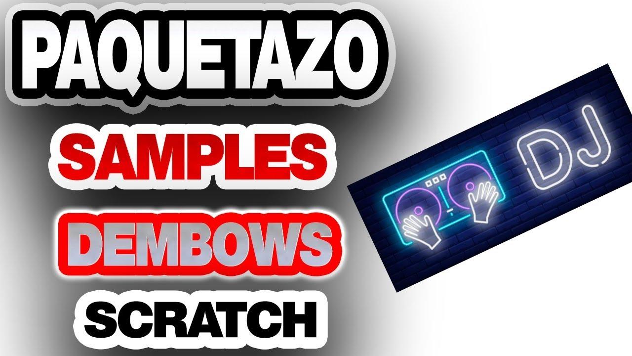 ♻️ PACK PARA DJ ?Dembows Samples Scratch mixman dj 2021  ?