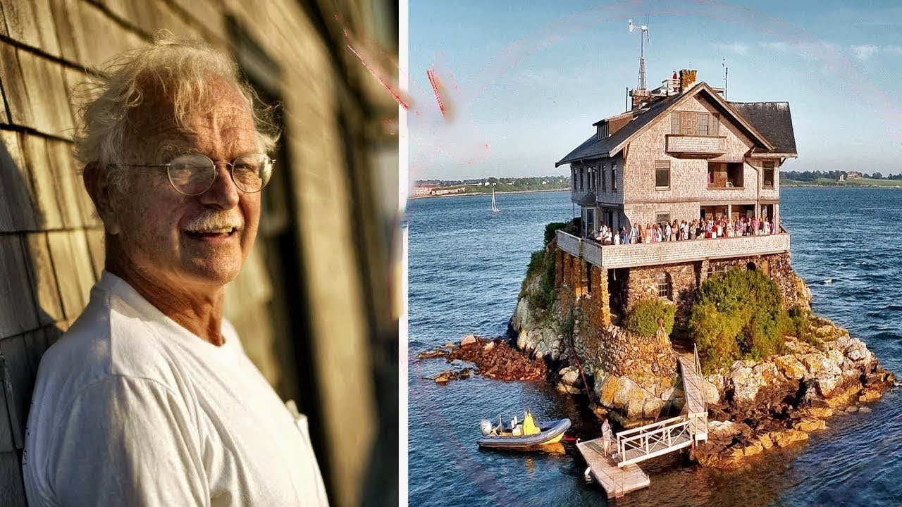 """Town officials took away his HOUSE…But he didn't give up and bought a """"rock inthe ocean"""" for $200"""