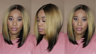 "Affordable Easy Bob Wig | Janet Collection Pretweezed Lace Wig ""Spinel"" 