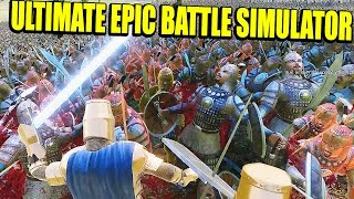 LA SUPERGALLINA, CHUCK NORRIS, BATALLA ANIMAL, AVALANCHAS - ULTIMATE EPIC BATTLE SIMULATOR