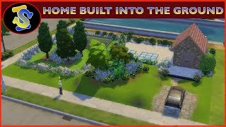 The Sims4 Building Video | Modern Home Built into The Ground