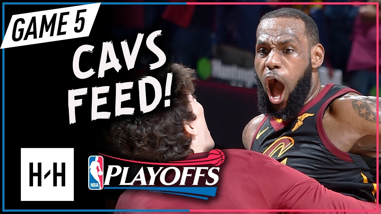 4012cd5bcd7 LeBron James Full Game 5 Highlights vs Pacers 2018 Playoffs - 44 Pts ...