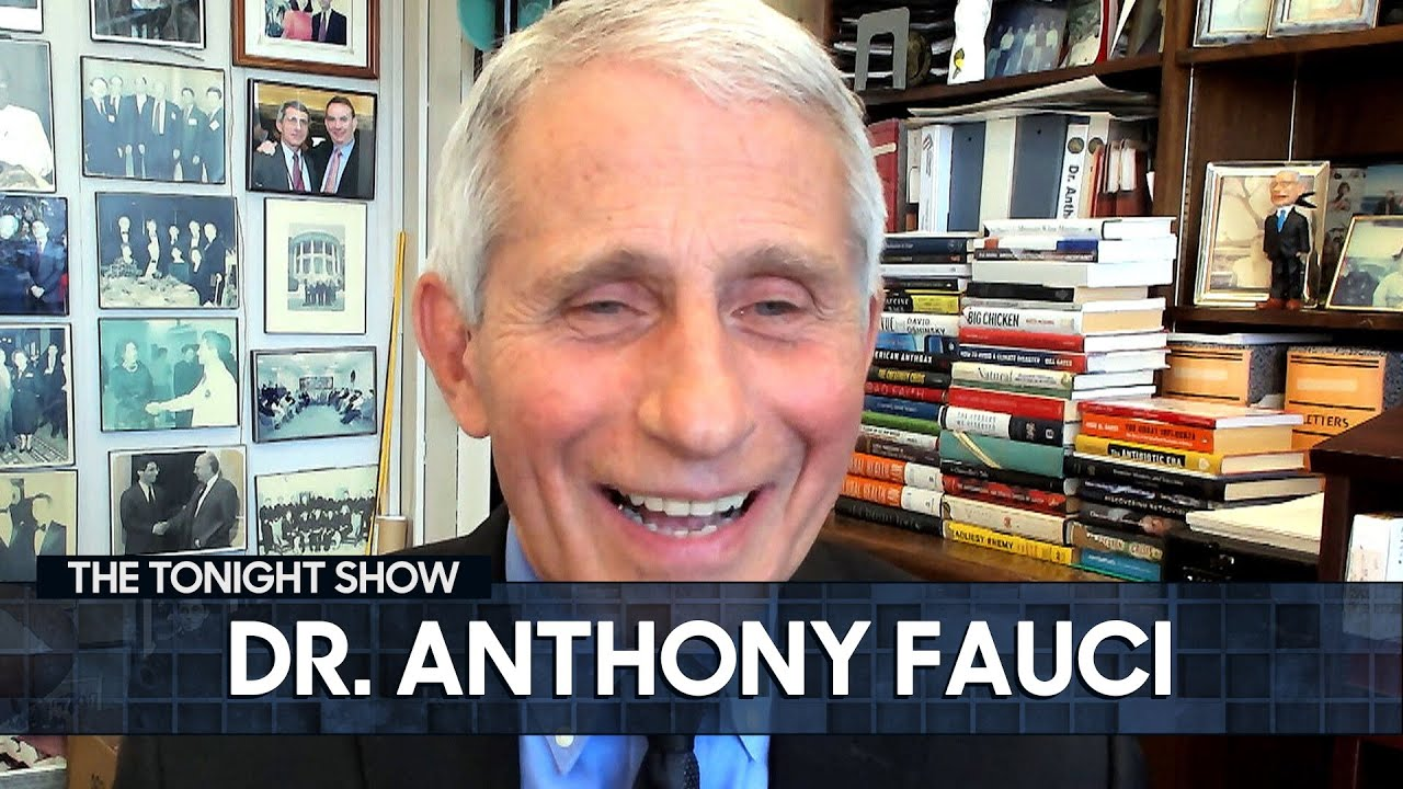 Dr. Anthony Fauci on New York's Reopening and the Importance of COVID Vaccines   The Tonight Show