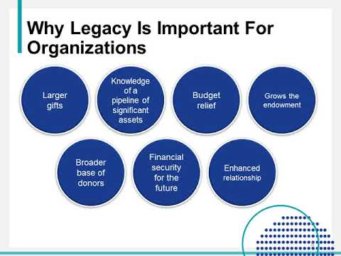 Legacy Giving Essentials: How To Build A Bequest Program