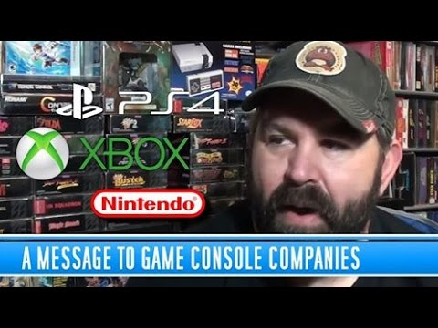 A Message to Game Console Companies