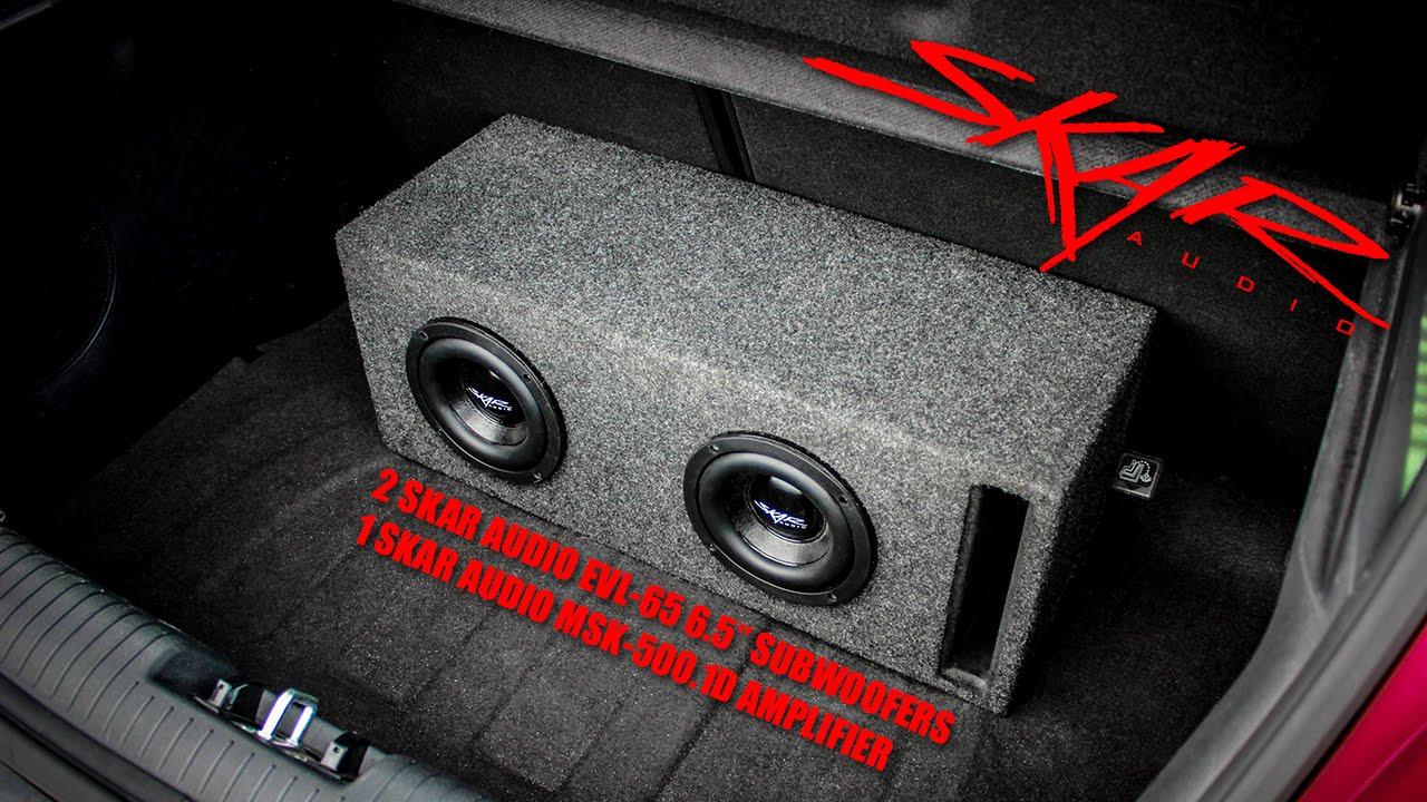 Skar Audio EVL 65 Subwoofer Demo Video