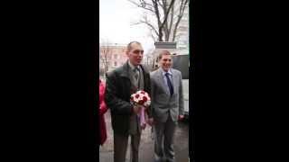 жених признается в любви невесте очень мило