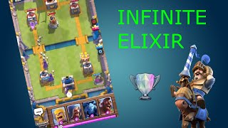 CLASH ROYALE GLITCH (INFINITE ELIXIR) ! NO DOWNLOAD !! [3]