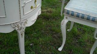 Louis style dressing table for sale on ebay.wmv