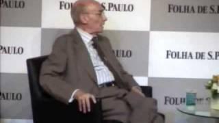 """José Saramago na Sabatina Folha de São Paulo - """"Ensaio Sobre a Cegueira"""""""