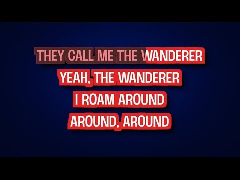 The Wanderer - Dion DiMucci | Karaoke LYRICS