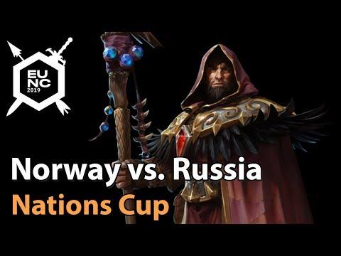 VOD: Norway vs Russia - Europe Nexus Contest 2019 - Map 2