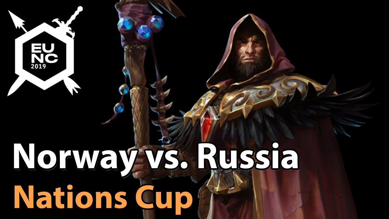 ► Norway vs. Russia - Nations Cup - Heroes of the Storm Esports