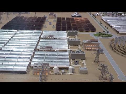 Solar Park Mohammed Bin Rashid, Dubai, green energy in the desert