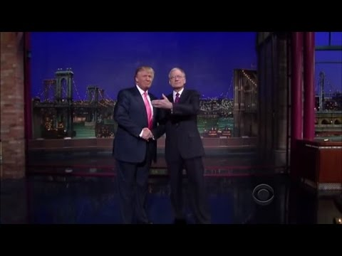 David Letterman Calls Donald Trump 'Damaged Human Being' Over Campaign Behavior