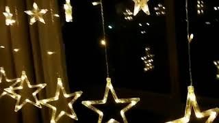 Гирлянда на окно звезды купить Украина