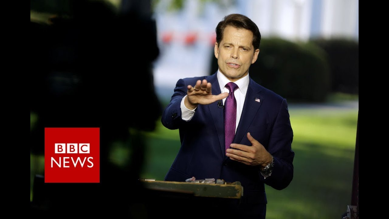 Anthony Scaramucci sacked: 10 memorable quotes from 10 days - BBC News
