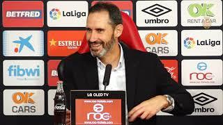 Vicente Moreno post RCD Mallorca-Athletic Club de Bilbao 0-0