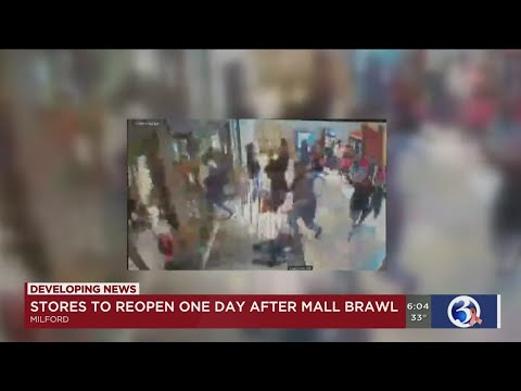 VIDEO: Milford Mall Fights Close Mall Early