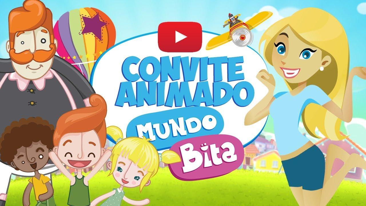 Convite Animado Mundo Bita Grátis
